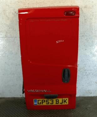 Дверь задняя (распашная); Opel; Vivaro; 2003 г.; Микроавтобус; красный;