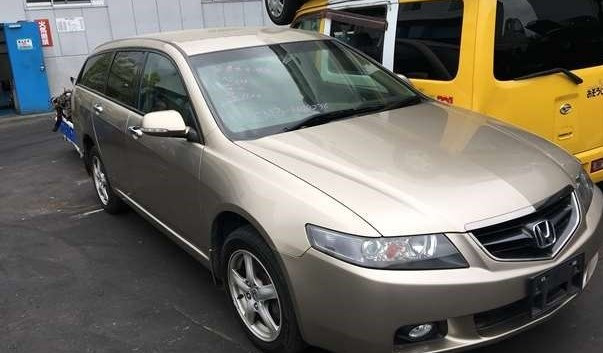 В пути  Honda Accord VII  2004