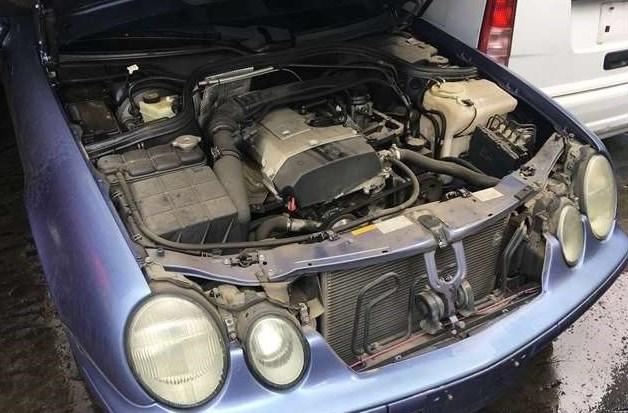 Ожидаем Mercedes CLK W208  2000 года